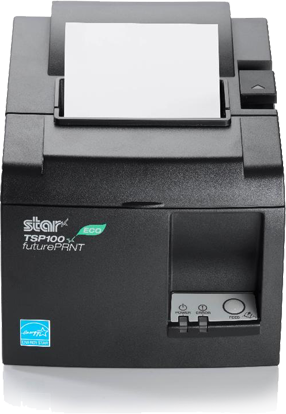 Bar thermal printer